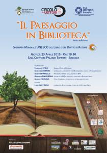 Manifesto Il Paesaggio in Biblioteca-01